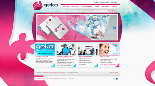 Geko Online Accounting Software
